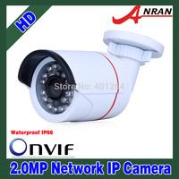 ANRAN Onvif 2.0 MegaPixel 1080P Full HD 25fps Network IP Camera 24IR Outdoor Waterproof CCTV Camera