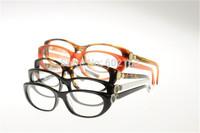 Vintage Nobel Designer Eyewear Glasses 3203 Acetate Full-Rim Frame Small Size Optical Glasses Frame Plain Mirror Lens Myopia