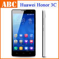 "Original 4G TD LTE Huawei Honor 3C 5"" 2GB RAM 16GB ROM Quad Core phone LTPS Kirin K910 1.6GHz 8.0MP Android 4.4"