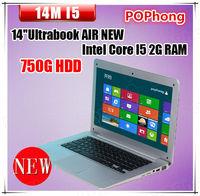 ultra slim mini laptop computer Intel Core i5 Processor windows 8 english 750GB HDD