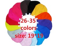 5pcs /lot baby hat baby cap infant cap Cotton Infant Hats Skull Caps Toddler Boys & Girls gift  18 colors available