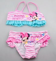 Hot Sale High Quality Kids Carton Swimming Suits GirlsBathing Clothes Children Swim wear Two Piece