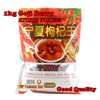 1kg Organic Dried Goji berry,China Ningxia wolfberry,Good for Sex,1000g Fresh Goji berries,1098 Wholesale Tea,Free Shipping
