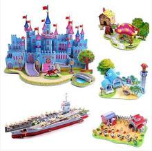 popular 3d puzzle castle