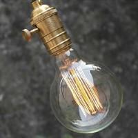Brand New Carbon Classical Art light bulb antique Retro Edison lamp G80 E26/E27 220V 110V Halogen Bulbs
