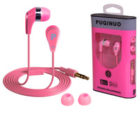 100% Brand New Earphone Headphone with retail  Box Gift game for mobile iphone 3 4 5s headset Free Shipping