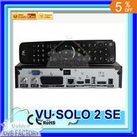 Mini vu solo 2 se twin tuner decoder dvb-s2 tuner STB vu solo2 mini hd Linux OS Digital satellite tv receiver DHL free shipping