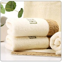 100% COTTON SOFT 33cm*77cm new 2014 Face Bath White Microfibre Towel Novelty Households Baby Towel Drop Shipping Bamboo Towels