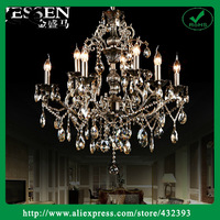 Modern Fashion Lustres Crystal Stair Large Chandelier For Living Room