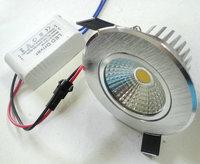 5W COB LED down light(450lm),  supper bright ,good beam angle,120 degree.