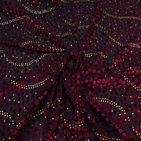 The new high-grade velvet fabricFlower velvet fabric gold velvet flowers and clothes fabric