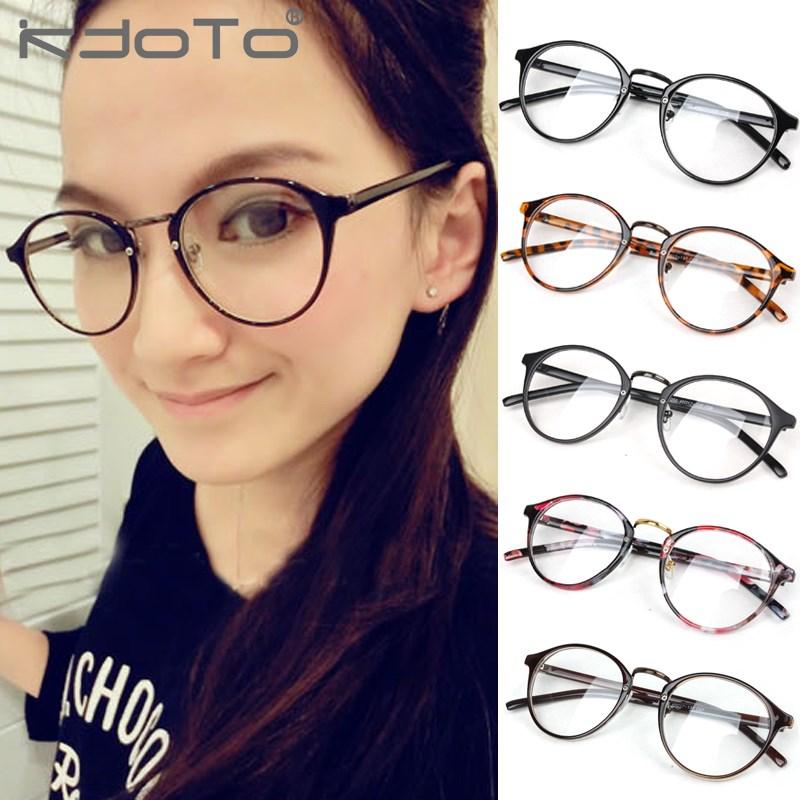 Good Eyeglass Frames For Round Faces : Aliexpress.com : Buy 2014 Fashion Eyeglasses Frames Women ...