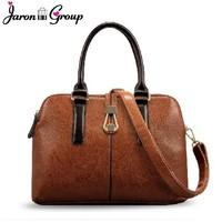 Jaron Group Women Messenger Bag British Handbag Genuine Leather Bags Women Leather Handbag One Shoulder Tote Bag Cowhide