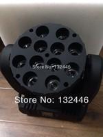 2pcs/lot Free shipping 12x10w LED RGBW 4 in 1 quad led moving head Beam Lights 12x10w 4in 1 led beam lights disco light