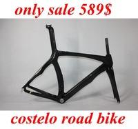 Free shipping toray T1000 carbon fiber 1k bicycle carbon frameset road racing frame and fork carbon road bike frame