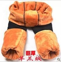 Korean version of the influx of female double warm pants winter trousers were thin velvet leggings Stuttgart Heavy code