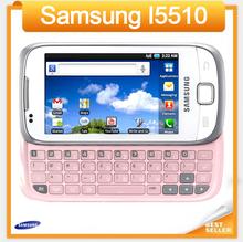 Samsung I5510 mobile phone QWERTY Keyboard WIFI GPS 3G Phone 3.15MP Camera refurbished cell phone(China (Mainland))
