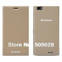 4*Free gifts! ON SALE!100% Original Lenovo K900 smart flip cover PU leather case for lenovo K900 screen protector