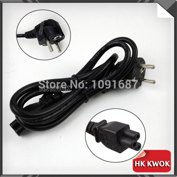 High Quality 1.2 Meter Standard European Laptop Power Cord 2 Prong Power Cord