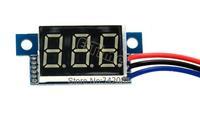 5pcs/Lot New 2013 Red LED Panel Meter Digital Voltmeter DC 0-100V TK1215