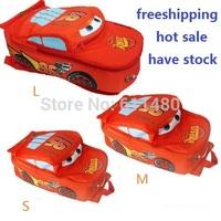 HOT NEW baby children's bags kids red  Cars School bag boys girls printting backpacks mochilas infantil  3 size S M L