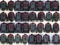 2015 Chicago Blackhawks 2 Keith Sharp Janathan Toews Crawford Hossa Shaw Patrick Kane Gray Charcoal Cross Check Fashion Jersey