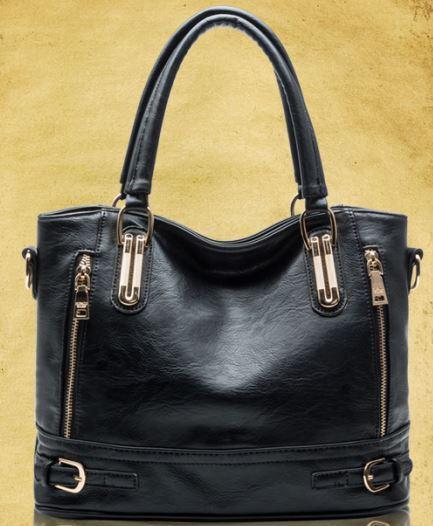 F208 2014 New Design Women Fashion cowhide women's leather fashion handbag messenger bag vintage women's motorcycle Q9 genuine(China (Mainland))