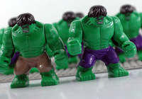 Classic Toys Minifigure 7CM Hulk Toy action figures Block dolls Super heroes Star wars toys 3D Building Blocks Free Shipping