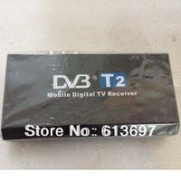 Hot Sale Car DVB-T T2 Receiver MPEG-2 / MPEG-4 External Digital TV Box Support 40km/h Compatible With DVB-T DVB-T2 Russia