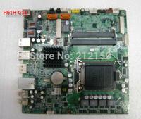 Free shipping 90% new for ECS H61H-G11 H61 Desktop motherboard Socket LGA 1155 DDR3 16G THIN MINI-ITX on sale