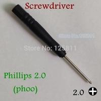 1000pcs/lot Phillips 2.0  Screwdriver ph00  #00  call phones tools New Repair Tool For iPhone iPod /mobilephones/tablets/MP3