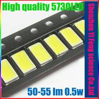 NEW diode led 5630 smd 5730 smd 50-55 lm 0.5w lamps for led light string par light smd leds light