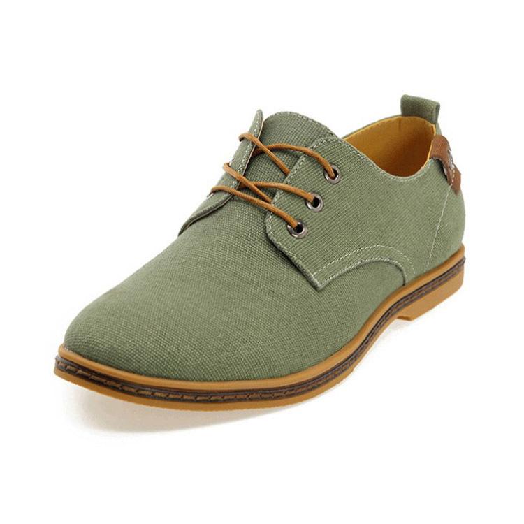 Mens canvas dress shoes mens dress shoes fashion