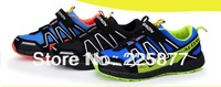 HOT 2014 Salomon child sport shoes, boys and girls sneakers,casual athletic shoes children's running shoes for kids