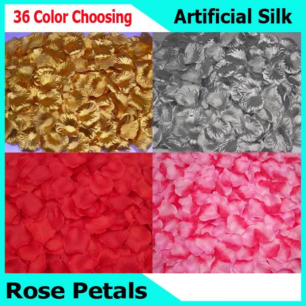 Cheap Silk Rose Petals