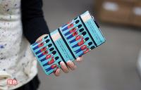 2015 new Preppy style color block wallet long design wallet popular women's wallet