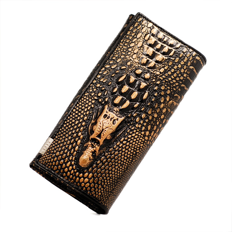 New Arrived 2015 Women Leather Wallets Fashion 3D Alligator Desigual Brand Design Casual Lady's Purse Women's Clutch # 397(China (Mainland))