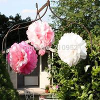 Free Shipping 45pcs mixed (15CM,20CM,25CM) Tissue Paper Pom Poms Wedding/Party/Birthday/Baby shower/Nursery  decoration