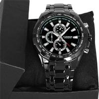 2014 New Curren Men Luxury Brand Watch Fashion Watch Quartz Watch Full Steel Wristwatch 5 Color Free Shipping