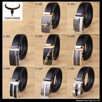 2014 Fashion Genuine leather belts for men Business male Belt Automatic Buckle double faced cowhide belt A-105  Cintos cinturon