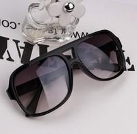qzbt I16-1 high fashion star big black reflective sunglasses glasses box male Women vintage sunglasses