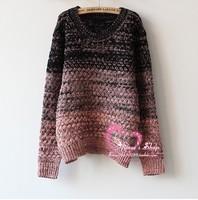 Free Shipping sweaters 2014 women fashion Knitted Pullover Women Sweater ladies' sweater knit sweaters Plus Size