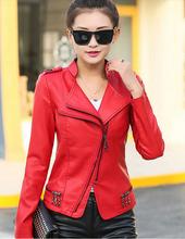 Plus size 5XL Denim jackets women coats new 2014 autumn winter lady Denim stitching leather jacket coat women's leather clothing(China (Mainland))