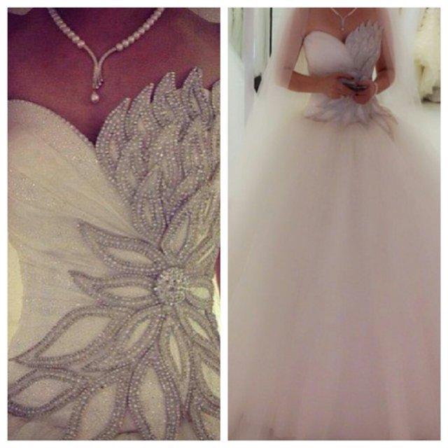 2014 nueva llegada de moda balón vestido de tul con cuentas vestidos de novia vestido de novia vestidos de de novia de envío gratis bo4358