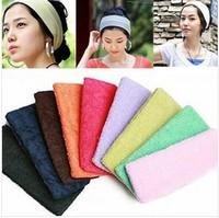 Free shipping 5pcs/lot Hot-selling hairband Cool fashion headband Sport yoga hair wrap Fitness dance bandanas Women accessories
