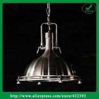 American Vintage Rh Loft Iron Pendant Light Industrial Pendant Lamp Fixture Lighting For Bar Room, Restaurant Home Decor