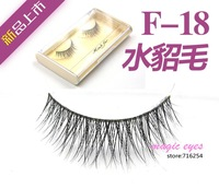 F-18 hand- eye soft mink false eyelashes longer cross section models exported to Europe Exclusive Package
