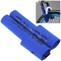 Bicycle Frame Chain Stay Front Fork Protector Pads Wrap Cover For Bike