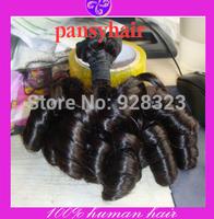 Grade 6A Funmi Hair Brazilian Virgin Hair Weave Human Hair Weavon Sprial curl Aunty hair Hot sell in Nigerial and UK