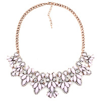 2014 New Arrival wholesale Chain necklace fashion golden pentagram rhinestone choker Necklace statement jewelry Z women H1201